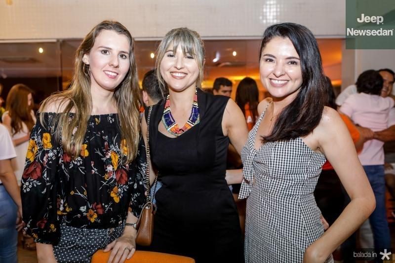 Talita Monteiro, Lana Nascimento e Natercia Gomes