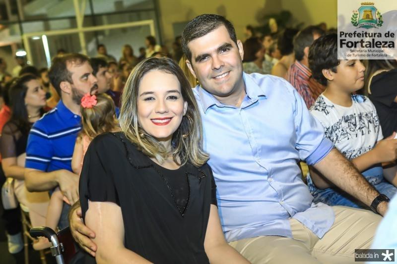 Ticiana e Marcelo Ameida