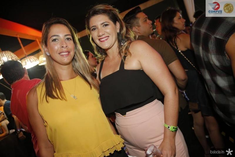Raquel Ferreira e Lorena pinheiro