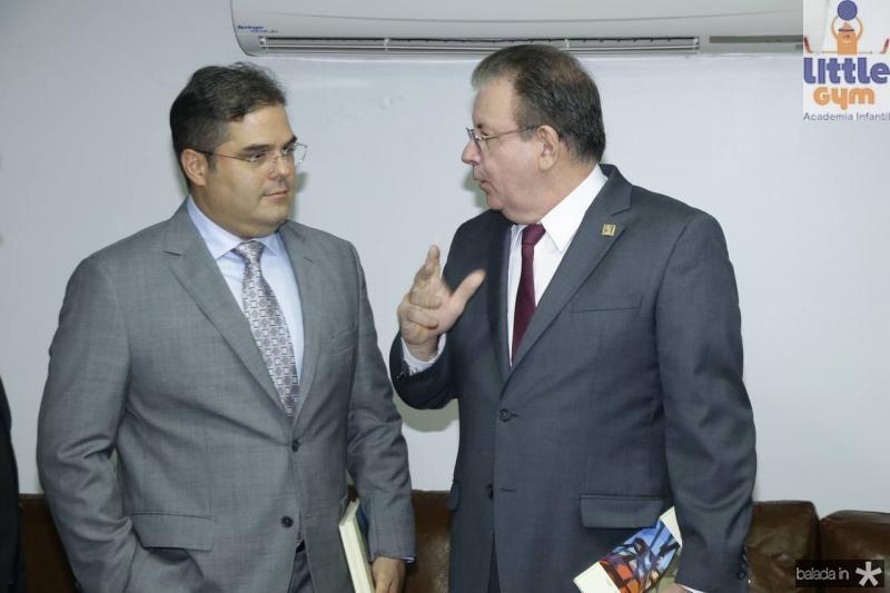 Edson Queiroz Neto e Ricardo Cavalcante