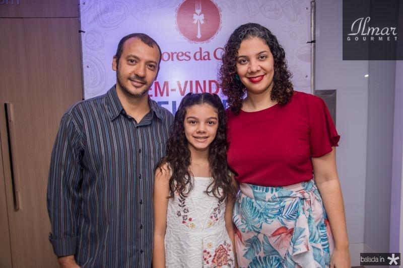 Marcel Costa, Beatriz Gurgel e Juciana Gurgel