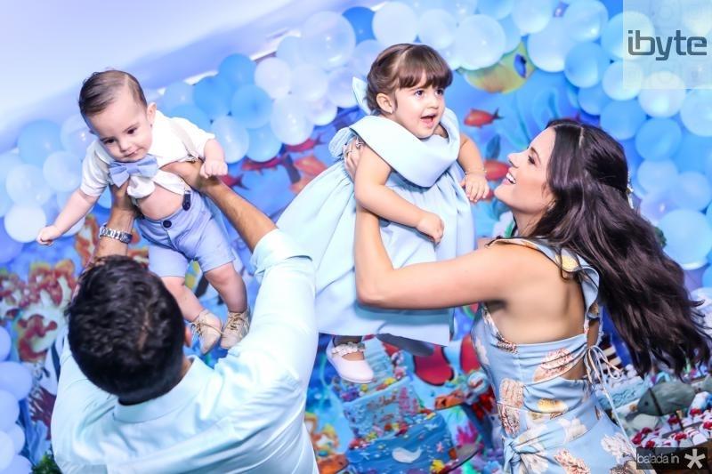 Bruno, Artur, Luiza e Priscila Becco