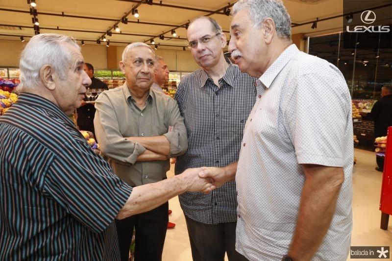 Mauricio Silva, Mario Viana, Fabiano Silva e Cesar Roma