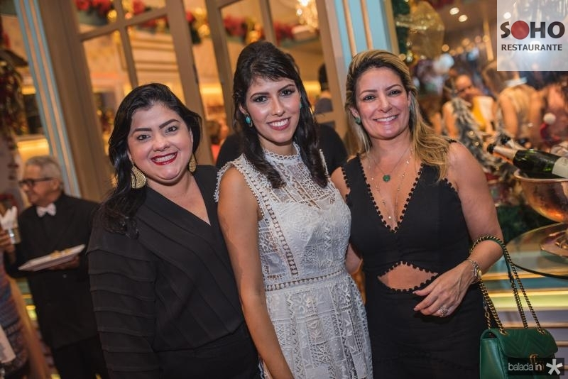 Viviane, Flavia Laprovitera e Tatiana Luna