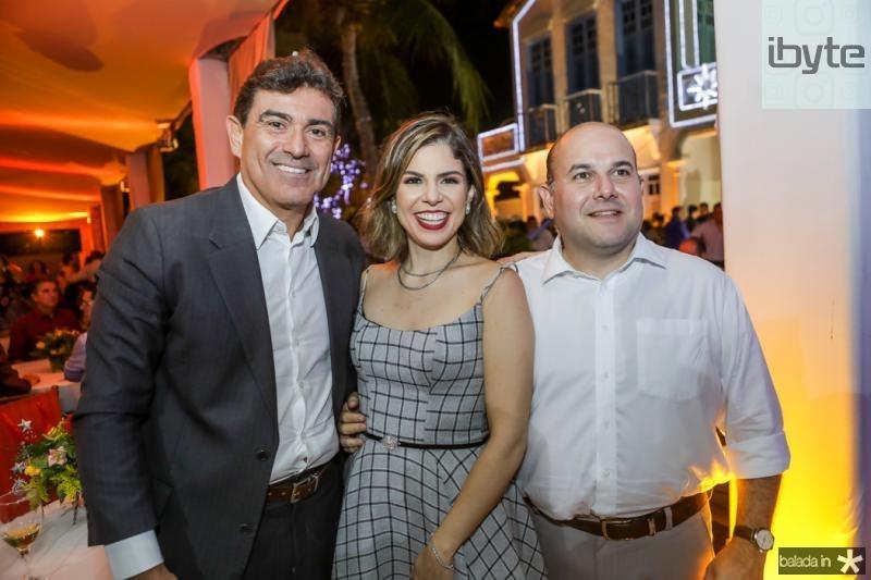Alexandre Pereira, Carol e Roberto Claudio Bezerra