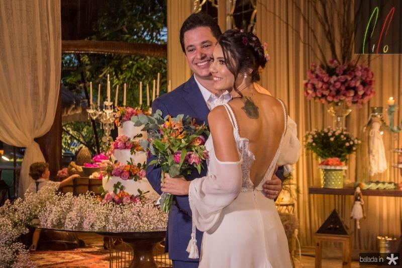 Joao Cabral Fiho e Carla Braga