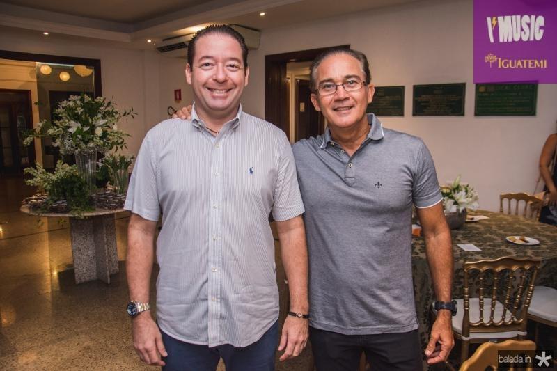 Demotie Linhares e Claudio Brasil