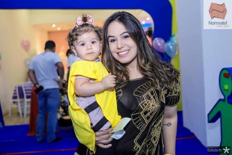 Safira e Larissa Braga