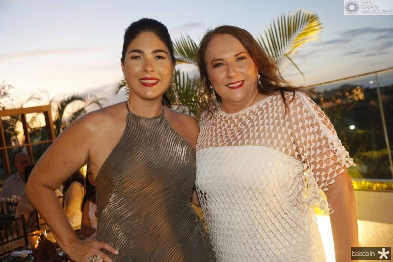 Izabela Fiuza e Luiziane Fernandes