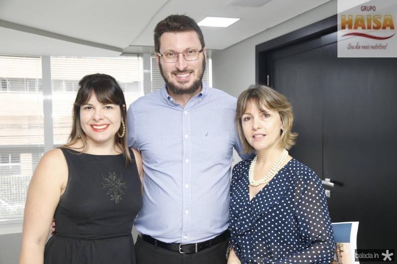 Livia Ferreira, Rodrigo Leite e Circe Jane