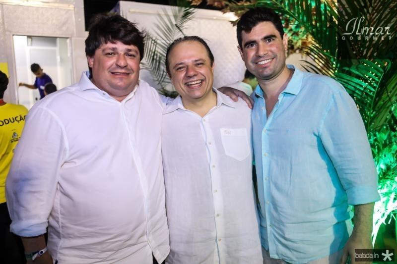 George Lima, Claudio Pinho e Bruno Barreira