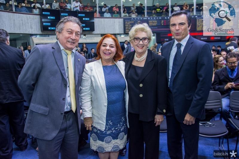 Euvaldo Bringel, Vanja Fontelene, Socorro Franca e Juvencio Viana