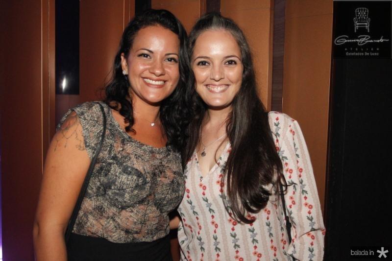 Bruna Melo e Karina Silva