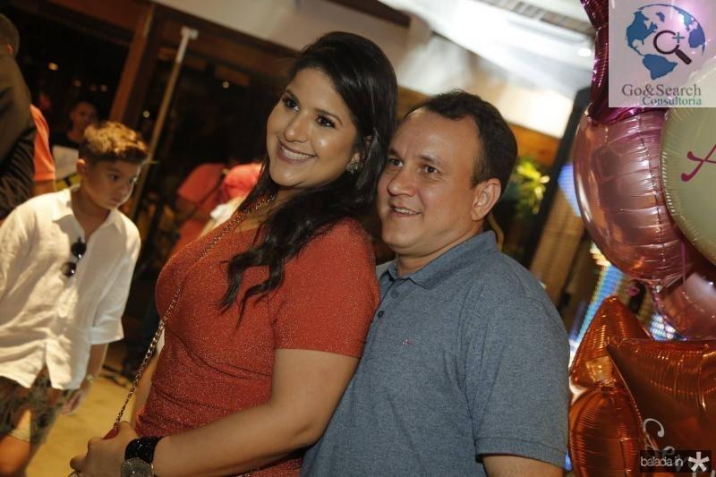Samanta dala e Jeferson Fernandes
