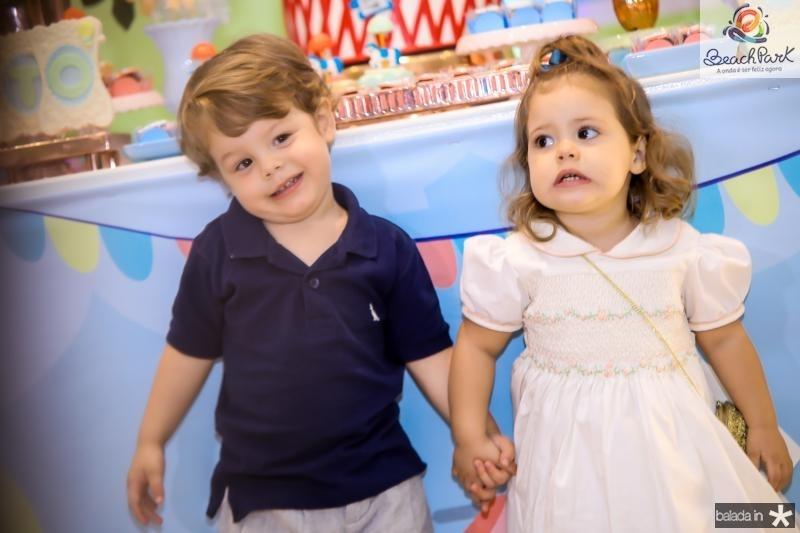 Bento Rocha e Liz Sampaio