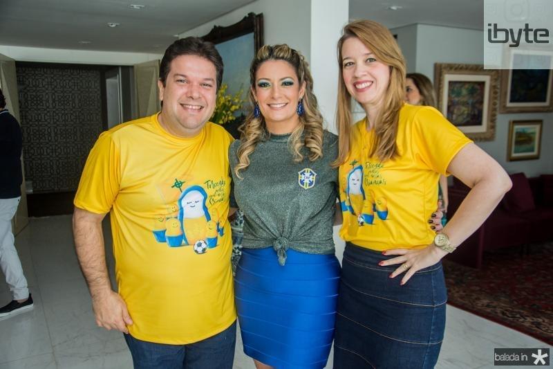 Chico Vale, Tatiana Luna e Marina Vale