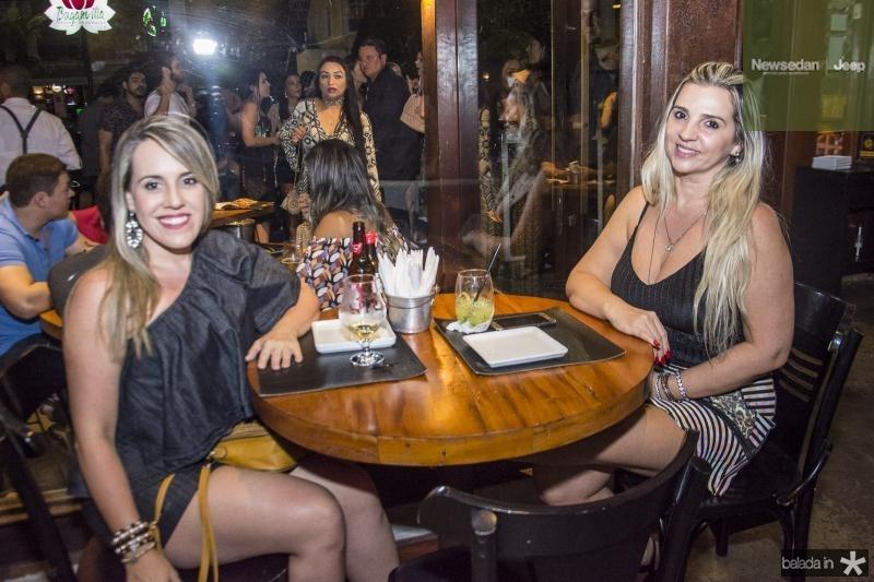 Daniela Marques e Joana Cavalcante