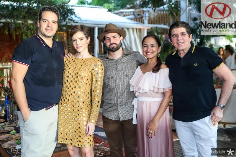 Thiago Holanda, Paulinha e Felipe Rocha, Nazaré Santiago e Dito Machado