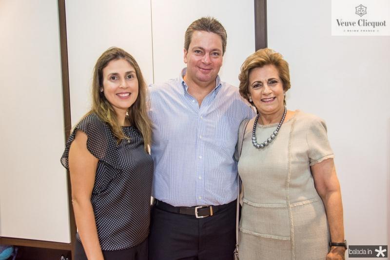 Eloisa, Aragao Neto e Regina Aragao