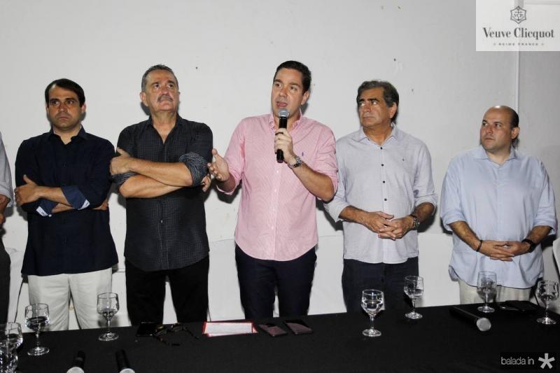 Salmito Filho, Bismarck Maia, Eduardo Bismarck, Zezinho Albuquerque e Roberto Claudio