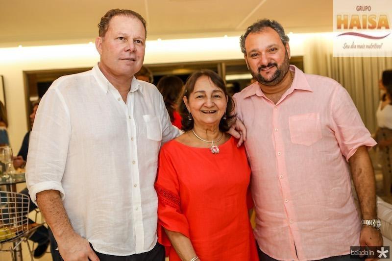 Júlio Ventura, Graça Dias e Patriolino Dias