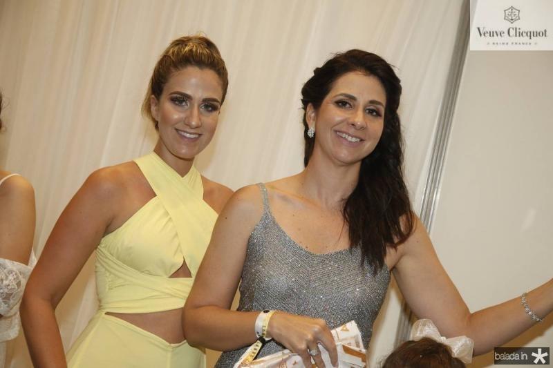 Catarina Barbosa e Fernanda Bezerra