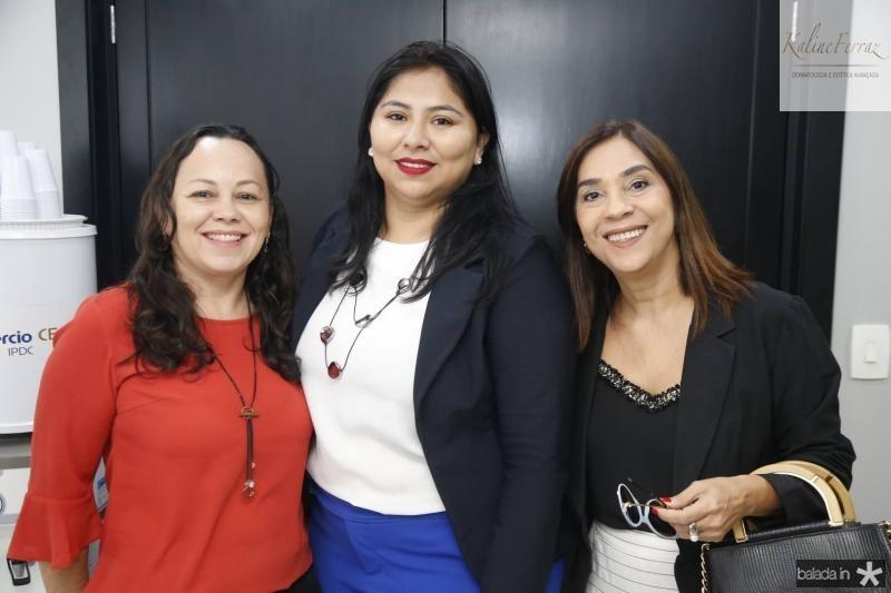 Clea Mota, Aniele Gurgel e Ana Caracas
