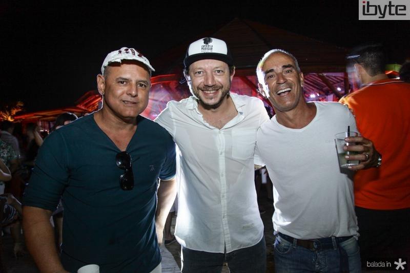 Lucio Figueiredo, Eduardo Sissi e Claudio Vignolli