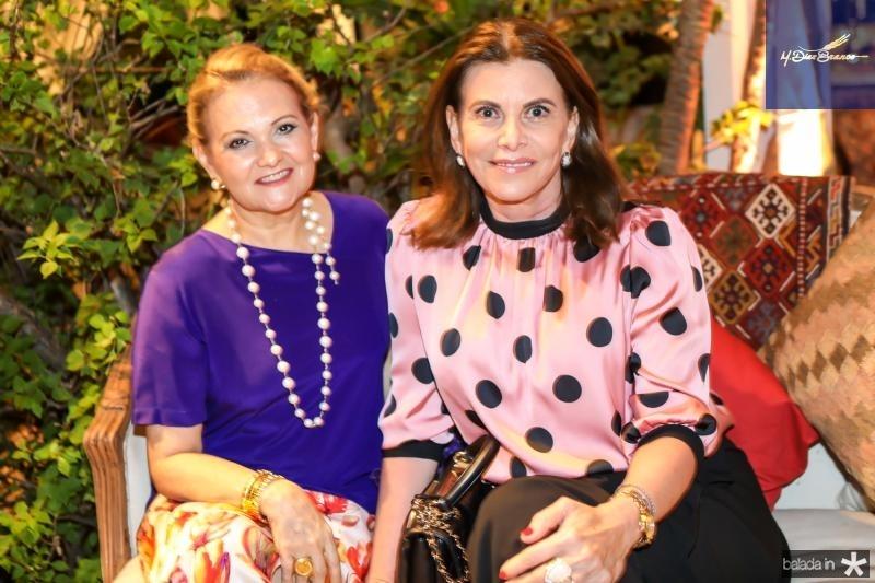 Lenise Rocha e Sandra Pinheiro