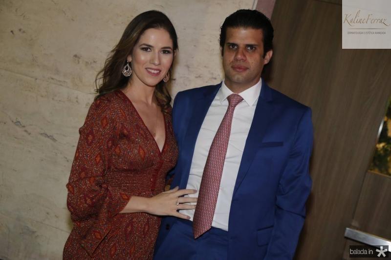 Caroline e Bruno Borges