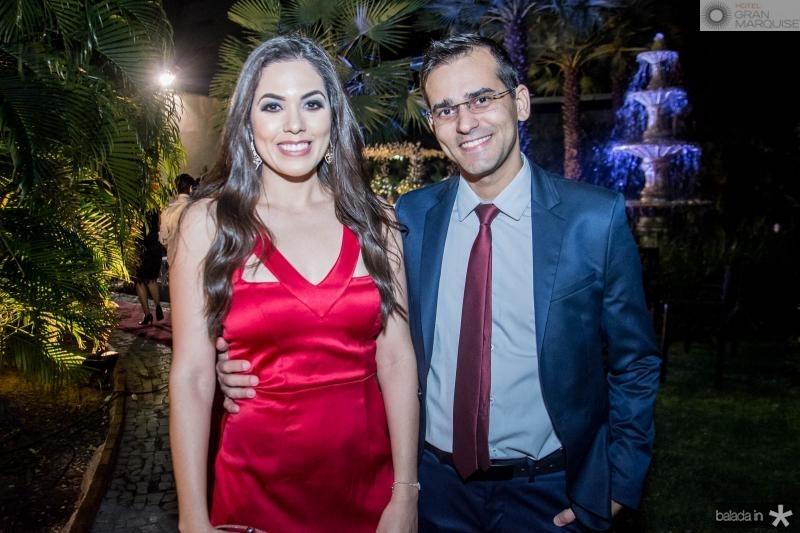 Tarciana e Rafael Maia