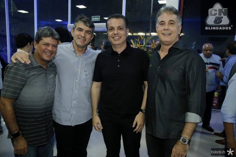 Andre Souza, Joao Paulo Holanda, Leo Dallolio e Marco Pessoa
