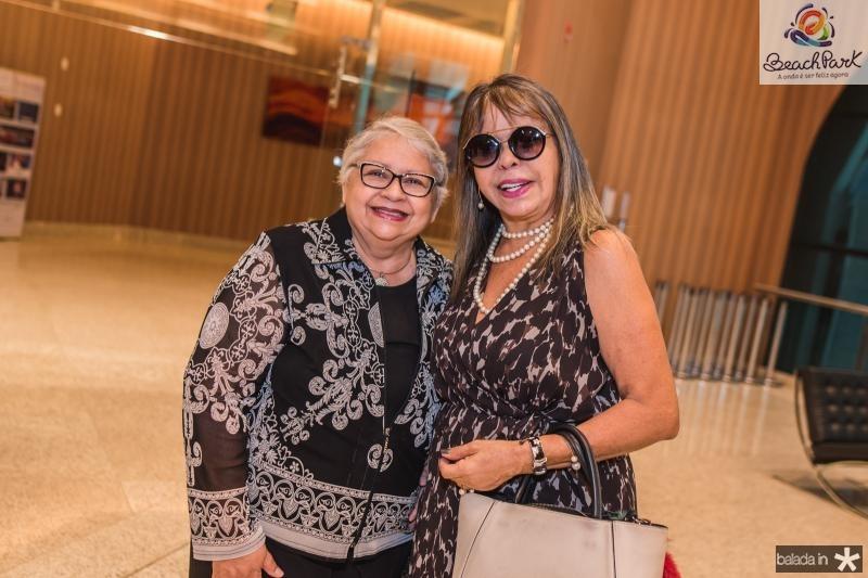 Gloria Ribeiro e Selma Cabral