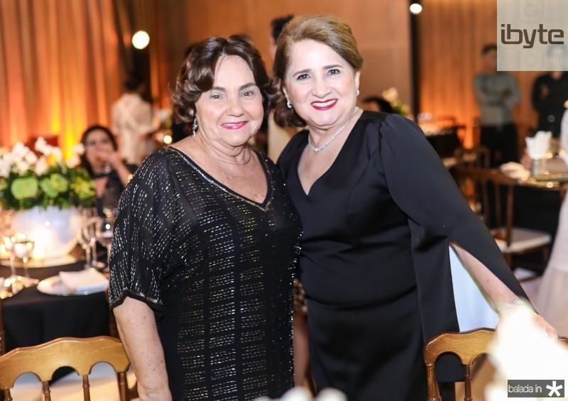 Mirian Almada e Auricelia Queiros