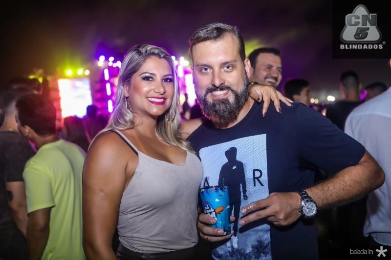 Nadia Lima e Marco Padilha