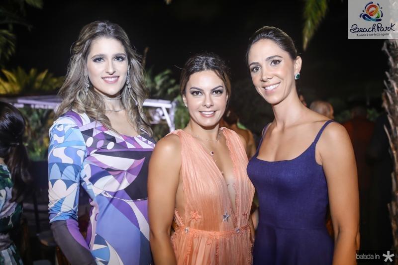 Rebeca Bastos, Rosane Porcino e Livia Vieira