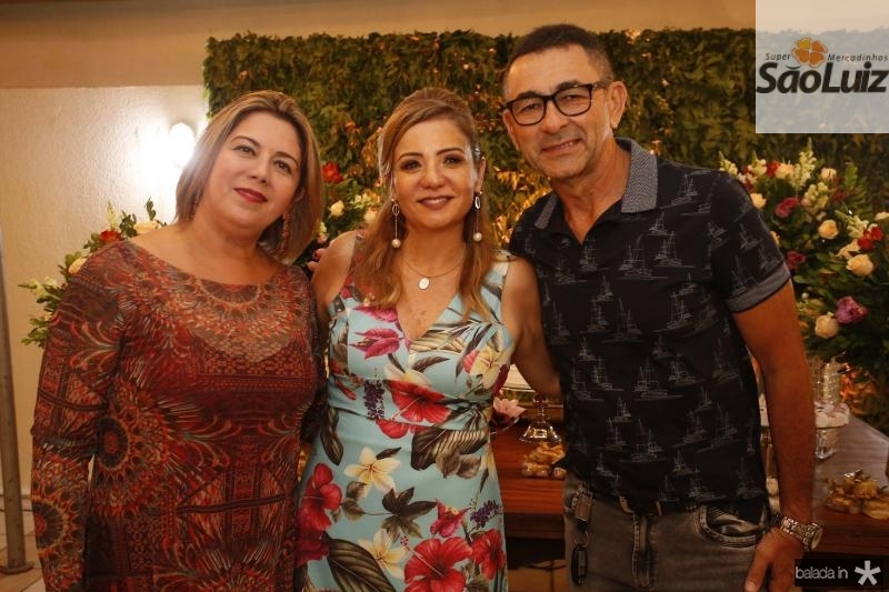 Adriana Joca, Simone Cardoso e Deusmar Moraes