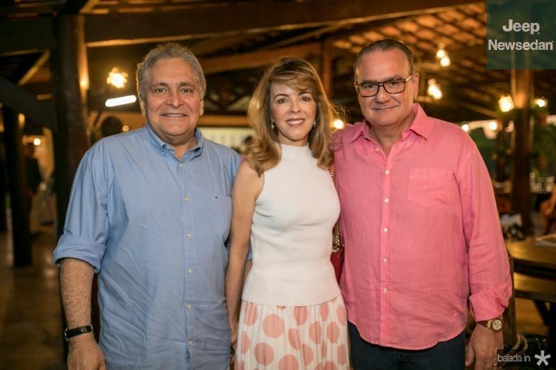 Luis e Karisia Pontes, Chiquinho Feitosa