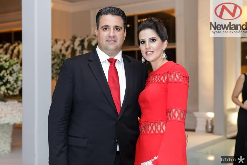 Thiago Morais e Mariana Melo