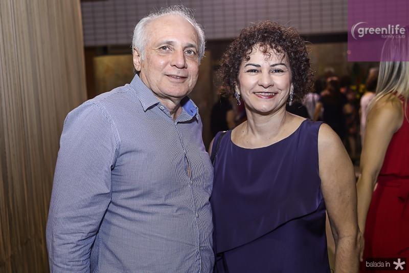Ricardo Sabadia e Mariza Quindere