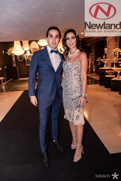 Neto Bayde e Nicole Pinheiro