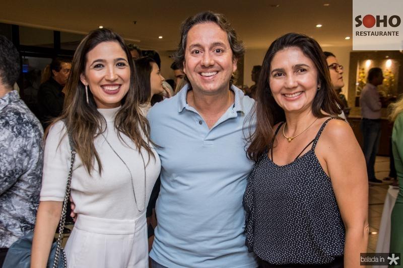 Renata Marinho, Rodrigo Parente e Luciana Cidrao