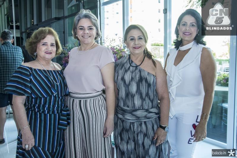 Auricelia Queiros, Daniele Vilar, Maria Gurgel e Anelise Barbosa