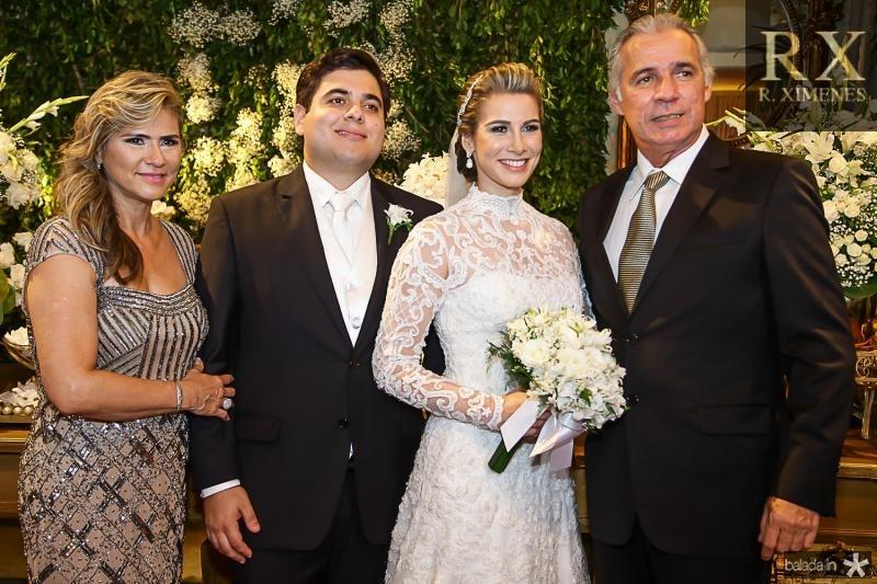 Maria Helena, Paulo Maciel, Ticiana Pimentel e Osvaldo Studart