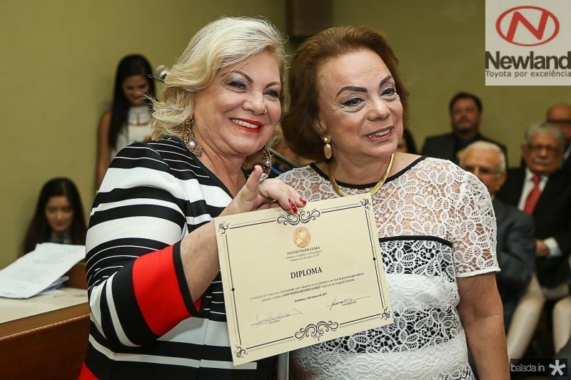 Fani Soares e Beatriz Alcantara