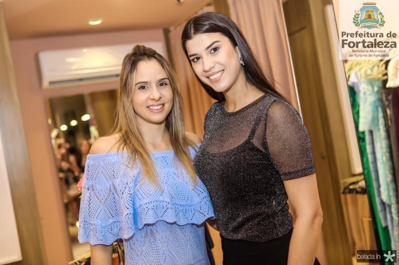Ingrid Gurgel e Manoela Pimenta