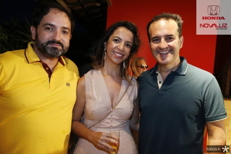Pedro Neto, Sofia e Emilio Guerra