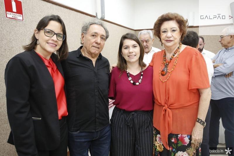 Paula Silveira, Rogerio Aguiar, Ivina Campos e Maze Campos
