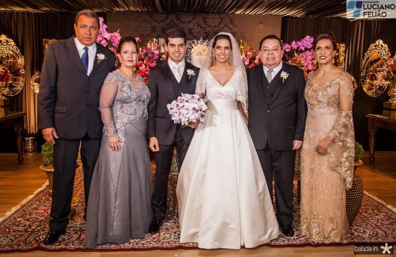 Marcelo e Tereza Ponte, Pedro e Carla Laprovitera, Gera e Marcia Teixeira