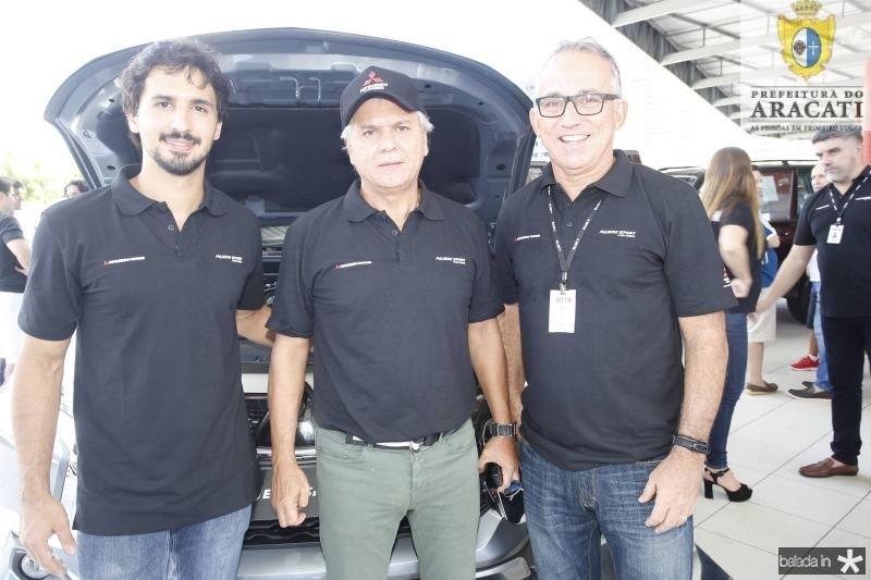 Lucas e Ricardo Rolim e Cesar Giosef